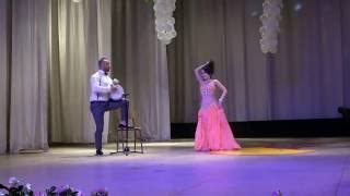 Гульвира  ипровизация с Орханом. Orhan Ismail. Gulvira. Tabla. Восточные танцы. Bellydance