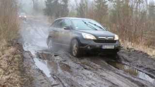 Honda CRV 2012 Hard Off-Road