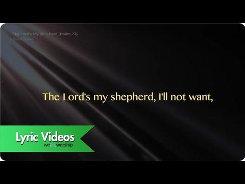 Psalm 23 - Youtube Lyric Video
