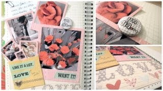 Smash Book Terapia: 28.04.13 *Cómo hacer un diario de Scrap* Smash book tutorial
