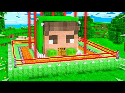 Never Break into JELLY's Impossible Minecraft House!