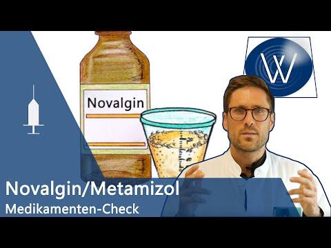 Schmerzmittel Novalgin, Novaminsulfon: Wirkung, Dosierung & Nebenwirkungen // IHR Medikamenten-Check