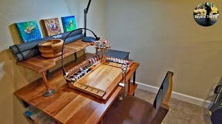 Building A NEW Fly Tying Station From An OLD Dining Room Table |  Beyond The Fly