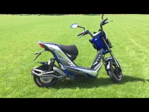 Giới thiệu xe máy điện Jeek Aima