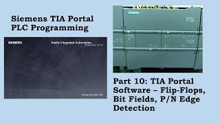 TIA Portal how to use a P-Trig - hmong video