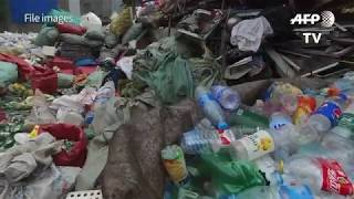 China's ban on accepting the world's used plastic has plunged