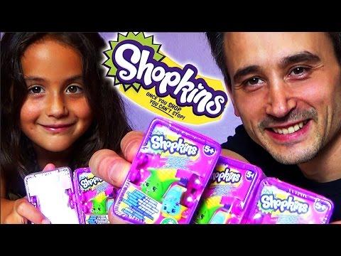 Shopkins Series 2 unboxing deutsch 5 Einkaufskörbe shopping baskets Teil 3 - Kinderkanal