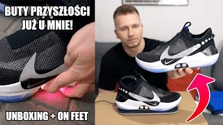 MAM SAMOWIĄŻĄCE SIĘ BUTY! 😱 Nike Adapt BB (Unboxing + on feet)   ButGra