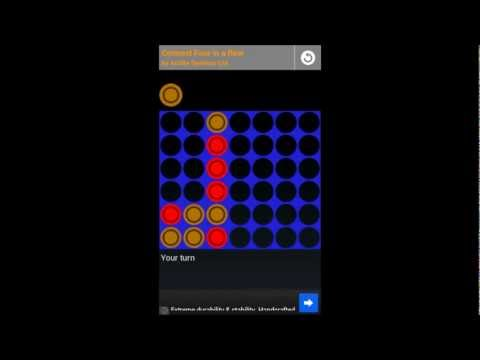 Video of Connect Four in a Row