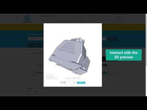 Bauteilkatalog auf Positronic-Unterehmenswebsite, realisiert durch TraceParts