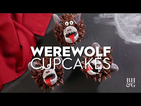 Werewolf Cupcakes | Fun With Food | Better Homes & Gardens