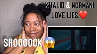 Khalid & Normani OFFICAL VIDEO REACTION|REACTING WITH THE COOPS