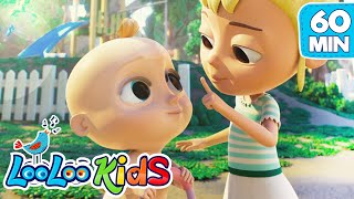 Let`s play with Johny and Friends - Nursery Rhymes and Children Songs | LooLooKids