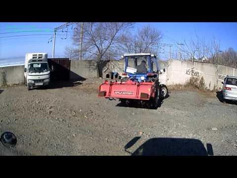 Tractor iseki TA375f тест трактора с кабиной