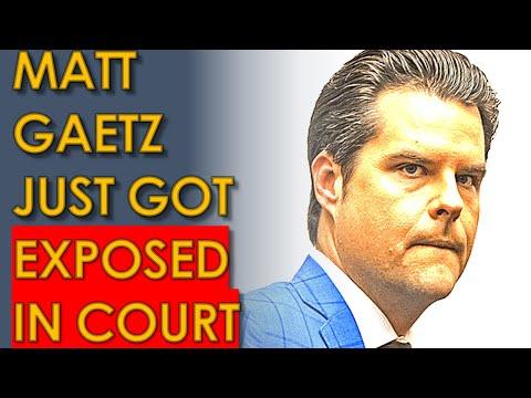Matt Gaetz TERRIFIED after Greenberg PLEA DEAL Buries Him!