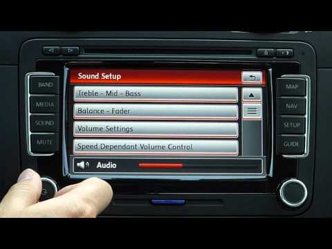 Volkswagen RNS510 GPS system demo, review, and tips in a VW Jetta TDI