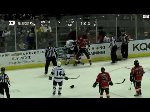Luke Gazdic vs. Jamie Devane