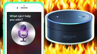 If Siri And Alexa Had A Rap Battle..