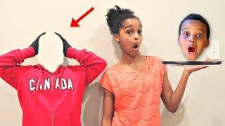 Bad Baby Shiloh LOSES HIS HEAD! - Shasha EPIC Chase! - Onyx Kids