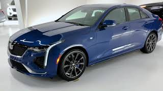 YouTube Video ZbbJV91Vgio for Product Cadillac CT4 Sedan by Company Cadillac in Industry Cars