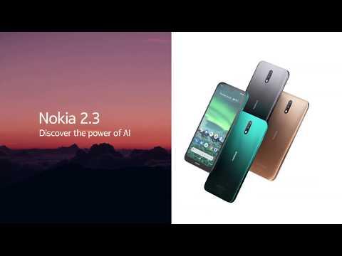 Nokia 2.3 ufficiale con Dual Camera, Android One e batteria da 4000 mAh