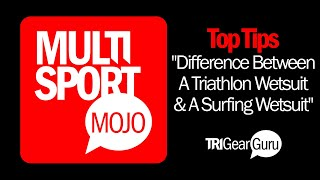 What's The Difference Between A Triathlon Wetsuit And A Surfing Wetsuit? TriGearGuru.com