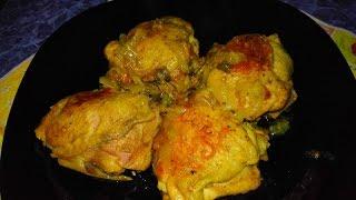 Простой рецепт - Куриные бёдрышки в мультиварке Редмонд (Redmond)