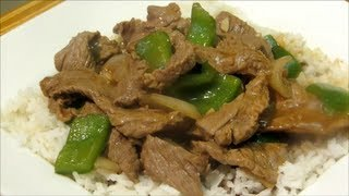 How To Make Pepper Steak - Pepper Steak With Onions - Easy Chinese Recipe