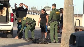 San Diego: Immigrants Caught Swimming Ashore From Mexico