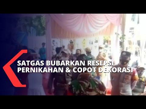 Langgar Prokes, Resepsi Pernikahan di Jakarta Timur Ini Dibubarkan Satgas Covid-19