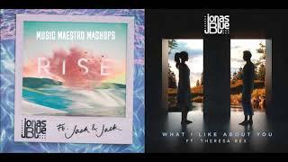 Rise/What I Like About You [Mashup] - Jonas Blue, Jack & Jack, Theresa Rex