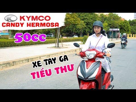 KYMCO CANDY Hermosa 50cc ▶ Xe ga cao cấp của Áo dài sang chảnh