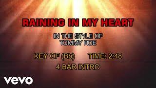 Tommy Roe - Raining In My Heart (Karaoke)