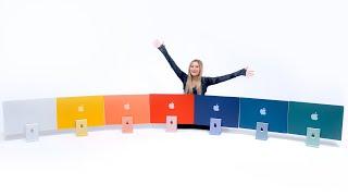 Unboxing ALL 7 M1 iMac Colors!