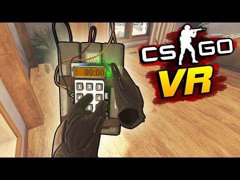 CS:GO в VR: МАТЧМЕЙКИНГ С БОМБОЙ (HTC Vive)