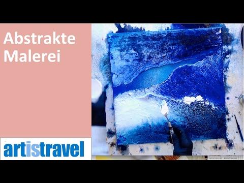 Abstraktes Bild - Oberfläche und Struktur anlegen | Ganz einfach malen lernen 4