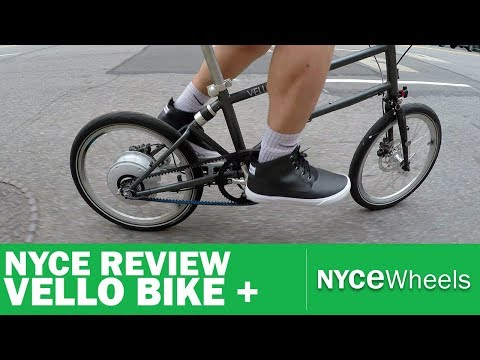 Vello Bike+ | Lightest Electric Folding Bike | Video Review