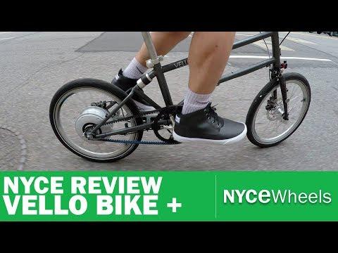 Vello Bike+ | Lightest Electric Folding Bike | Video Review