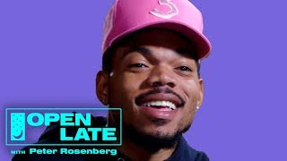 Open Late with Peter Rosenberg - Chance the Rapper On Kanye West, Donald Glover and New Music