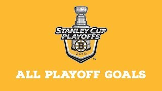 Boston Bruins | Every Goal From 2019 Playoffs