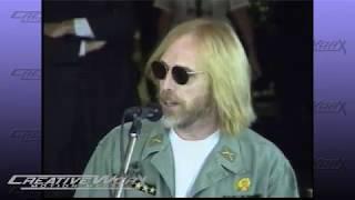 Tom Petty Inducts Carl Perkins into RockWalk 1996