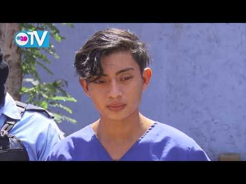 Presentan a sujetos acusados de violación y homicidio en Managua