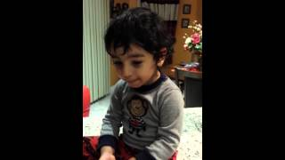 2 Years Old SAMY Singing The Famous Soltane Ghalbha By Aref