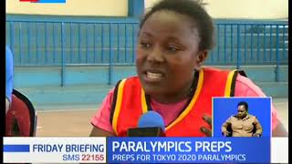 Preps for the Tokyo Paralympics Underway