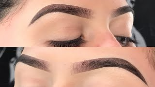Eyebrow Tutorial | Updated Routine/ ABH Dipbrow Pomade