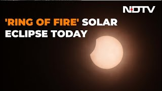 """""""Ring Of Fire"""" Solar Eclipse Today"""