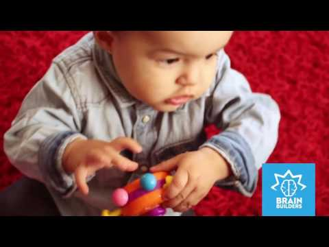 Brain Builders: Push and Pull UFO from People Toy Company