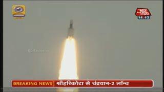 Chandrayaan 2 Lifts Off From Sriharikota | LIVE Updates