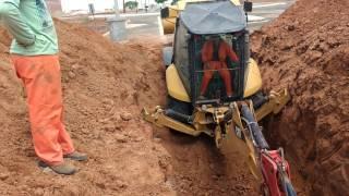Retro Escavadeira 416E