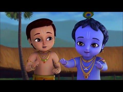 Маленький Кришна - любимец вриндавана. без страшных демонов видео